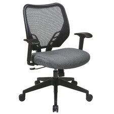 Space Seating VeraFlex Seat and Dark AirGrid Managerial Chair