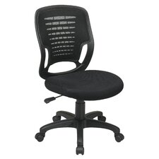 Screen Back Work Smart PlasticShell Task Chair