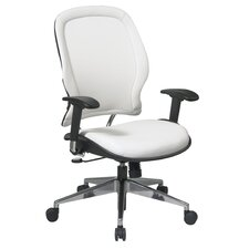 Vinyl Back and Seat Managers Space Deluxe Office Chair