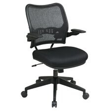 <strong>Office Star Products</strong> Air Grid Back and Mesh Seat Space Seating Deluxe Office Chair
