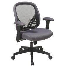 <strong>Office Star Products</strong> Space Seating Mid-Back Mesh Managerial Chair with DuraGrid
