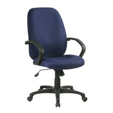 Mid-Back Executive Managerial Chair with Arms