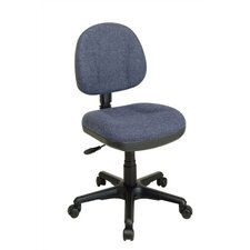 <strong>Office Star Products</strong> Sculptured Low-Back Task Chair without Arms