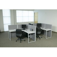 Box Office Typical Two Configuration Computer Workstation