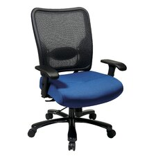 <strong>Office Star Products</strong> Space Seating High-Back Double AirGrid Big and Tall Office Chair