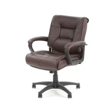 Deluxe Mid-Back Managerial Chair with Arms