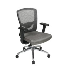 <strong>Office Star Products</strong> ProGrid High-Back Chair with Adjustable Arms