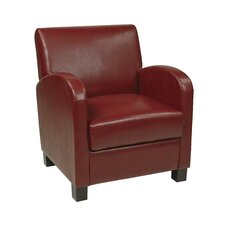 <strong>Office Star Products</strong> Eco Leather Club Chair