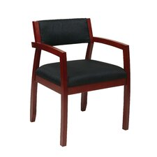 <strong>Office Star Products</strong> Napa Upholstered Back Guest Chair