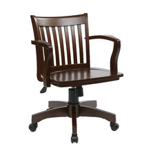 <strong>Office Star Products</strong> Deluxe Mid-Back Bankers Chair