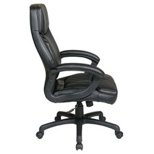 Work Smart High-Back Executive Chair