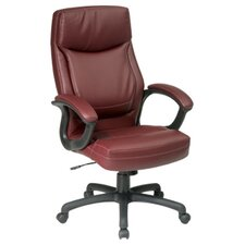 <strong>Office Star Products</strong> Work Smart High-Back Executive Chair