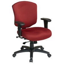 <strong>Office Star Products</strong> Work Smart Mid-Back Executive Chair with Arms