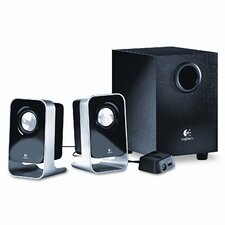 <strong>Logitech, Inc</strong> Ls21 2.1 Stereo Speaker System with Sub-Woofer