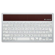 <strong>Logitech, Inc</strong> Wireless Solar-Powered iPad Keyboard