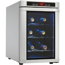 Maitre'D 6 Bottle Countertop Wine Cooler