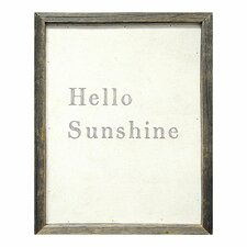 Hello Sunshine Framed Painting Print