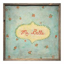 Ma Belle Framed Painting Print