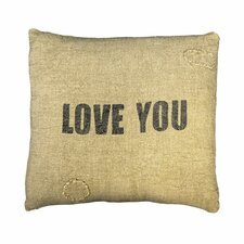 <strong>Sugarboo Designs</strong> Love You Pillow