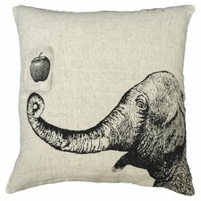 Apple and Elephant Pillow