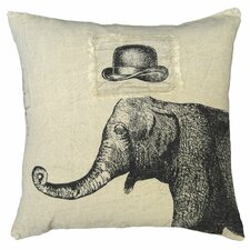 Hat and Elephant Pillow