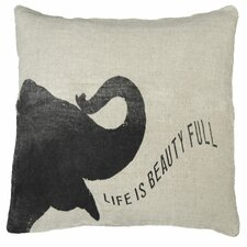 Elephant Speaking Life is Pillow