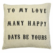 To My Love Pillow