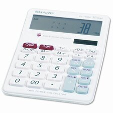 EL-T100AB Brain Exerciser Calculator, 10 Digit, LCD, Dual Power