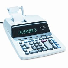 VX-2652H Desktop Calculator, 12-Digit Fluorescent, Two-Color Printing