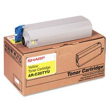 ARC20TYU OEM Toner Cartridge, 10,000 Page Yield, Yellow