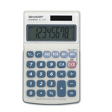 <strong>Sharp</strong> EL-240SB Business/Handheld Calculator, Eight-Digit LCD