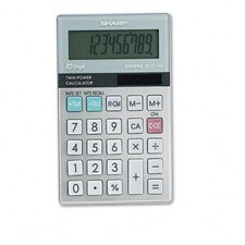 EL-377TB Business/Handheld Calculator, 10-Digit LCD