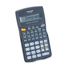 EL-501WBBK Scientific Calculator, 10-Digit LCD