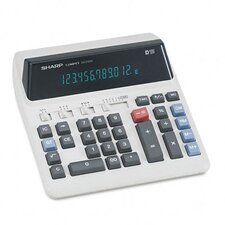 <strong>Sharp</strong> QS-2122H Compact Desktop Calculator, 12-Digit Fluorescent