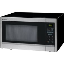 <strong>Sharp</strong> 1.1 Cu. Ft. 1000 Watt Carousel Countertop Microwave Oven