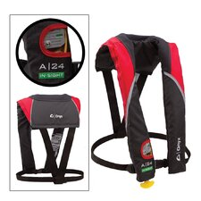 <strong>Onyx</strong> A/M 24 In-Sight Automatic Inflatable Life Jacket in Red