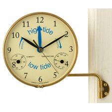 Veranda Indoor/Outdoor Time Tide Clock