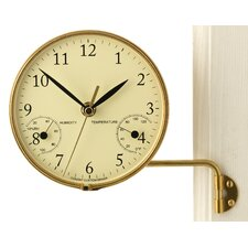 Veranda Clock and Thermometer