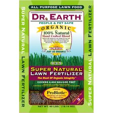 Organic Super Natural Lawn Fertilizer (40 lbs)