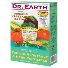 Organic Tomato, Vegetable and Herb Fertilizer (4 Lbs)