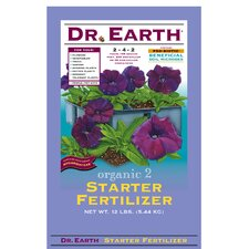 Organic Starter Fertilizer (12 Lbs)