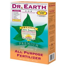 Organic All Purpose Fertilizer (4 Lbs)