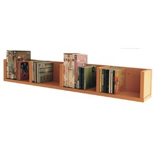 CD / DVD / VIDEO Multimedia Wall Mounted Storage Shelf