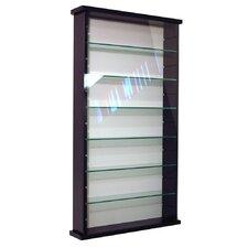 6 Shelf Wall Display Cabinet