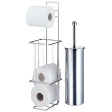 Toilet Brush and Roll Holder