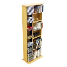 CD / DVD / Video Multimedia Storage Tower