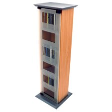 Glass Door CD / DVD / Media Storage Shelves