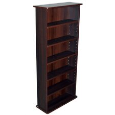 222 CD or 104 DVD Media Storage Rack