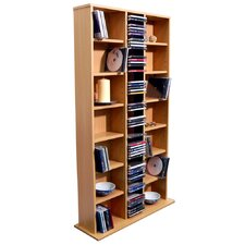 CD DVD Media Storage Tower