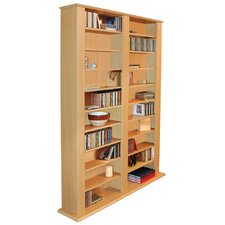 Multimedia CD / DVD Storage Shelves